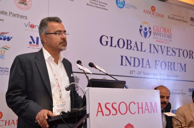 Shri Sanjeev Chopra at ASSOCHAM on 23-09-2015