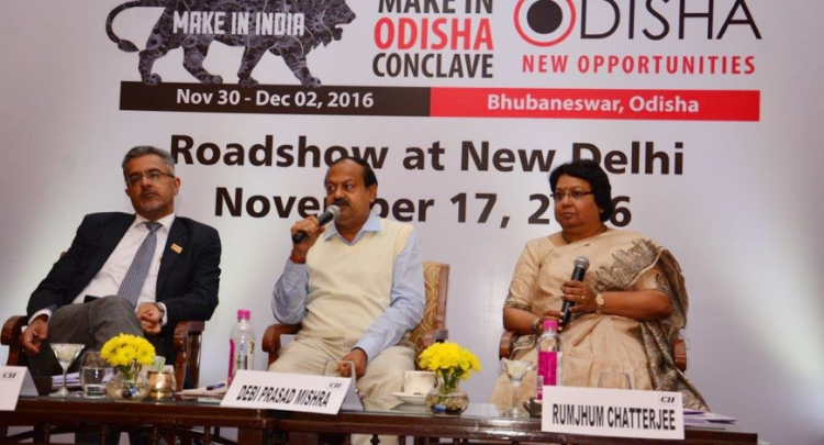 Honble Minister for Industries, Shri Debiprasad ...