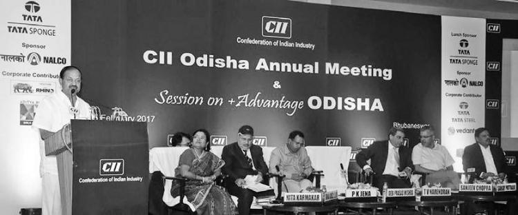 Honorable  Minister of Industries Shri  Debi Prasad ...