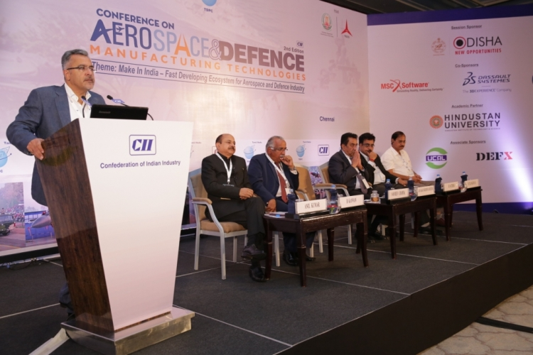 Principal Secretary, Industries Department addressing ...