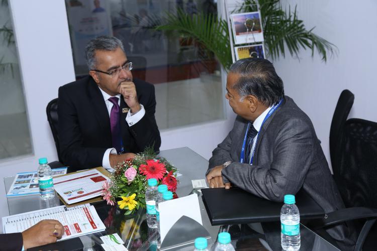 Meeting with Dhanuka Agri Tech Chairman (RG Agarwal)