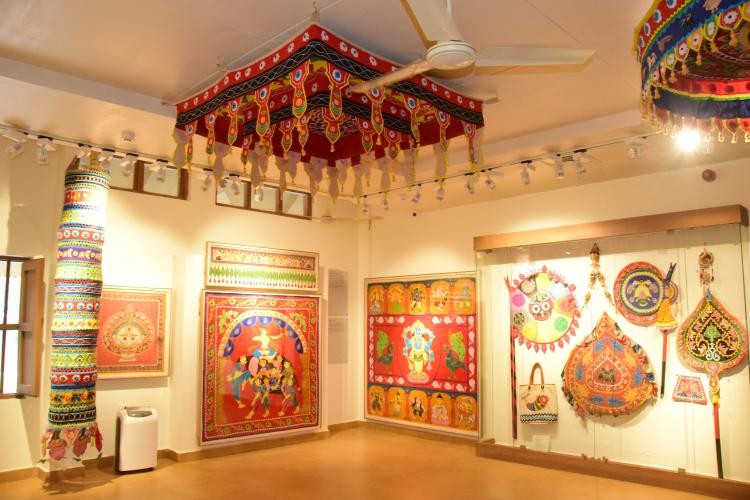 Handlooms & handicrafts of the state