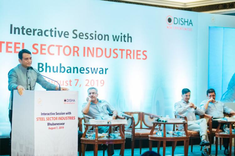 On Wednesday, the 7th of August, Government of Odisha held a  interactive session with Steel Sector Industries operating in Odisha. Key leaders and decision makers present at the event were apprised about the present ecosystem, enormous advantages Odisha offers and Govt of Odisha  aspires to achieve 300 MT of steel making capacity by 2030 to industries in the Steel sector.