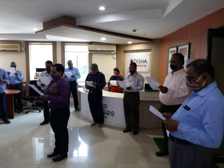 IPICOL employees pledge to eradicate corruption during observance of Vigilance awareness week